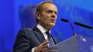 EPP elects Donald Tusk as the new president with 93 percent of votes