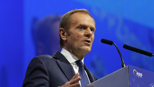 93 procent poparcia. Donald Tusk na czele największej politycznej rodziny w Europie