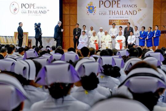 Wizyta Papieża Franciszka w Tajlandii