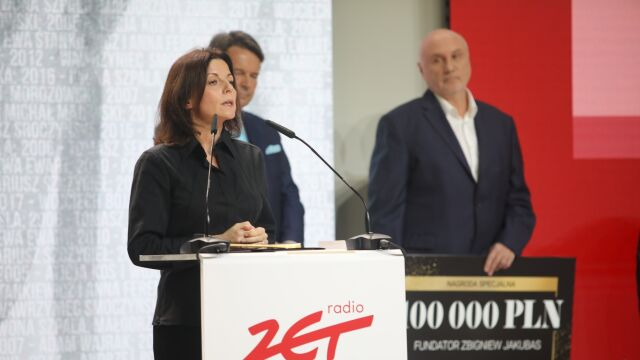 Przemówienie Bianki Mikołajewskiej po odebraniu nagrody