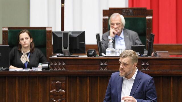 Zandberg do Morawieckiego: Bilans tych rządów jest inny niż ten który pan dziś przeczytał