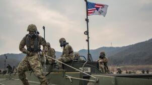 Pentagon: nie zamierzamy zmniejszać liczebności wojsk w Korei Południowej