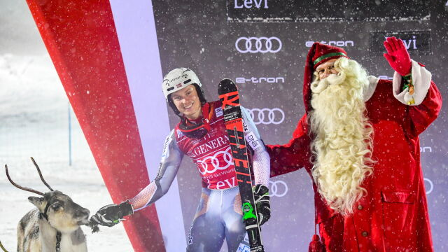 """Kristoffersen wygrał slalom w Finlandii. """"Czułem się jak w domu"""""""