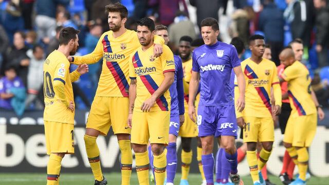 """Męczarnie Barcelony w Leganes. """"To nie jest normalne"""""""