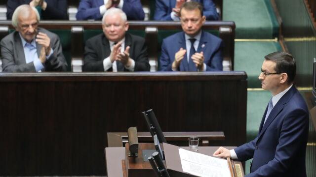 Morawiecki: będziemy kontynuować reformę wymiaru sprawiedliwości. Co jeszcze obiecał?