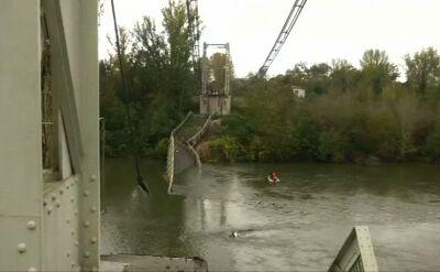 Runął most z okresu przedwojennego obok Tuluzy