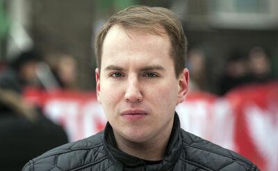 Biedroń o Andruszkiewiczu: w ogóle nie powinien być w polityce