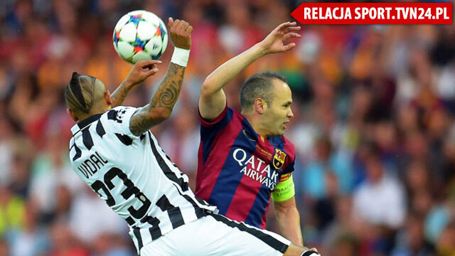 Liga Mistrzów dla Barcelony. Neymar dobił Juventus w ostatniej minucie