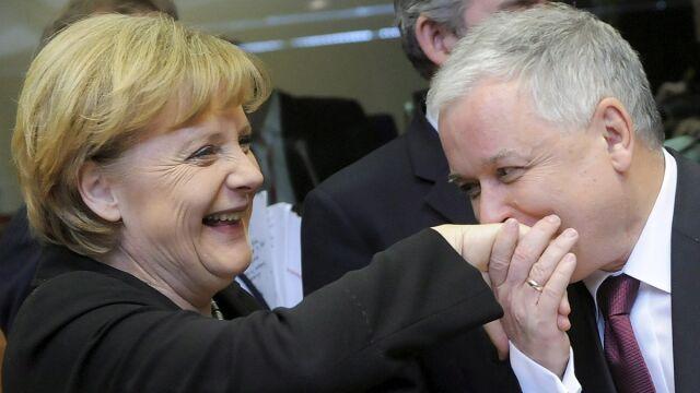 Premier do prezydenta: Widzisz jak Angela cię kocha?