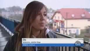 Ola o dyrektorce (TVN24)