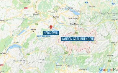 Pierwszy samolot spadł w miejscowości Hergiswil, drugi w kantonie Graubuenden