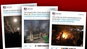 """""""Czerwone linie zostały przekroczone"""".  16-latka pisze prosto ze Strefy Gazy"""