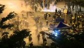 Policja zaczyna oczyszczać siedzibę parlamentu z demonstrantów