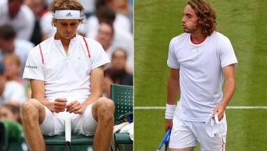Dwie młode gwiazdy wyrzucone z Wimbledonu w ciągu 30 minut.