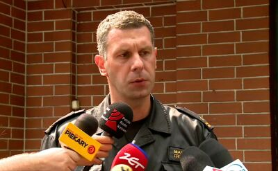Zastępca komendanta bytomskiej straży pożarnej o wybuchu w kamienicy