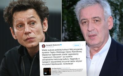 """Waldemar Dąbrowski nagrodzony """"operowym Oscarem"""""""
