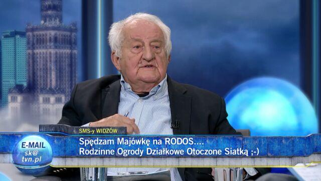 Jerzy Iwaszkiewicz prostuje swoją wypowiedź