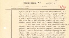 """Depesza Kazimierza Szablewskiego do Warszawy o """"klimacie przed konklawe"""", 10 października 1978 r."""