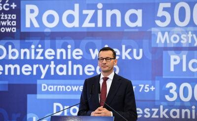 """Morawiecki: musimy docierać do milionów Polaków """"ponad głowami"""" mediów"""