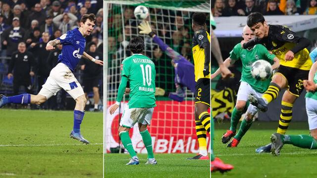 Kto strzelił najładniejszego gola w 1/8 finału Pucharu Niemiec?