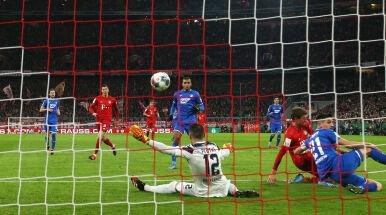 Szalone minuty w meczu Bayernu. Strzelali tylko do własnej bramki