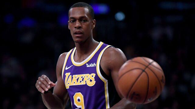 Lakersi mają problem. Kolejna długa przerwa Rondo