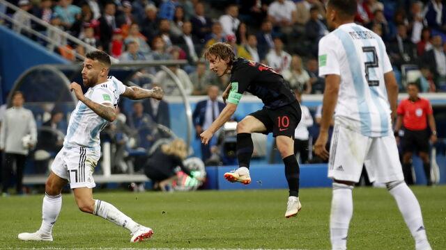 b820cf245 MŚ 2018. Argentyna - Chorwacja 0:3 - Mistrzostwa świata 2018