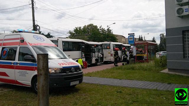 Zderzyły się dwa autobusy. 20 osób poszkodowanych