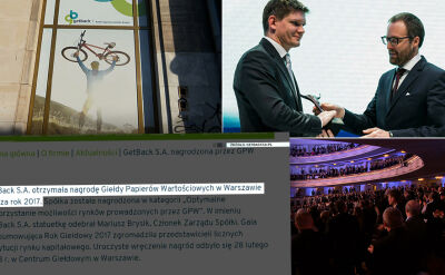 Kolejne zarzuty w sprawie spółki GetBack. Polska i świat