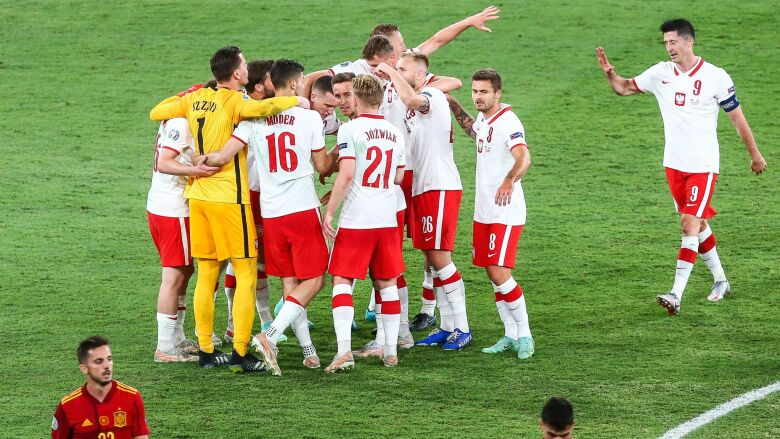 Wymowny obrazek po meczu kadry.
