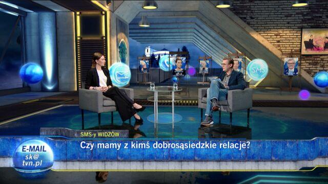 Katarzyna Kasia i Grzegorz Markowski w Szkle Kontaktowym