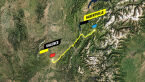 Trasa 10. etapu Tour de France 2021