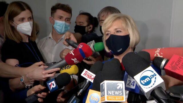 Lidia Staroń po głosowaniu w sprawie RPO
