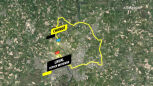 Trasa 5. etapu Tour de France 2021