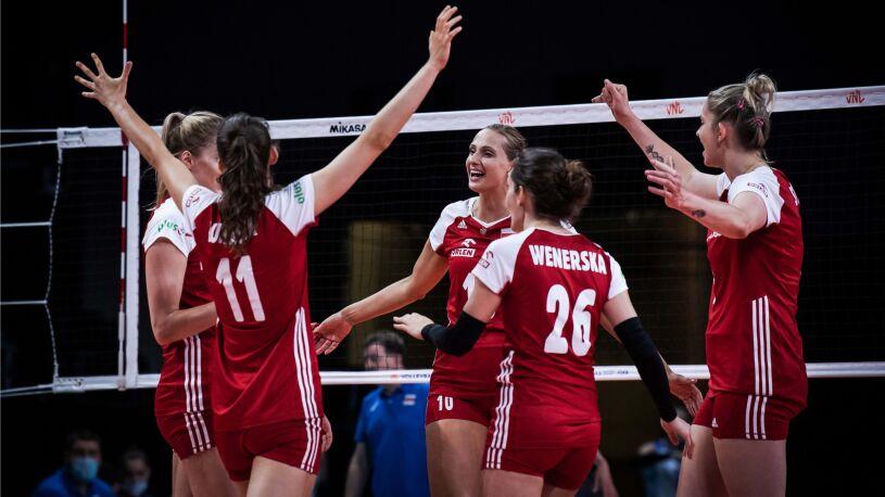 Pięć wyczerpujących setów i wygrana z Rosją.  Świetny występ Polek na koniec Ligi Narodów