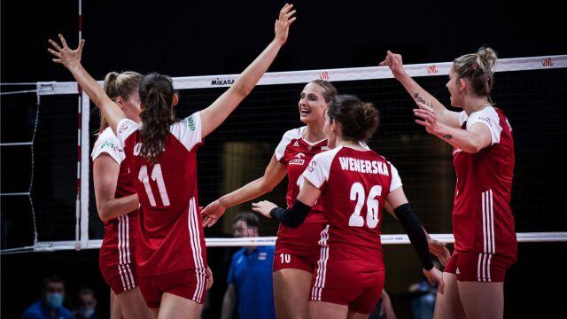 Pięć wyczerpujących setów i wygrana z Rosją. Świetny mecz Polek na koniec Ligi Narodów