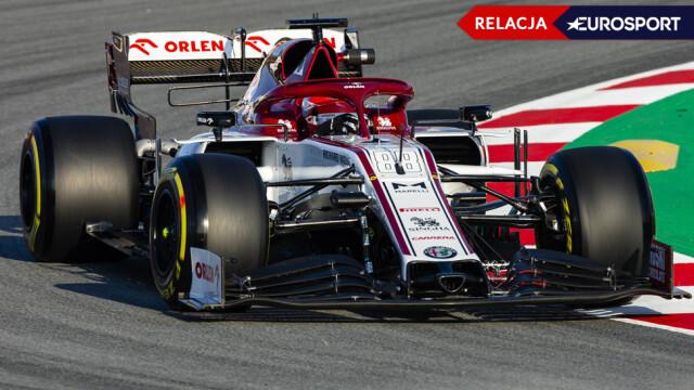Kubica jeździ w Barcelonie. Przed nim ostatnie okrążenia