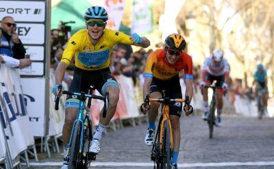 Błąd Teunsa na finiszu, 3. etap Vuelta a Andalucia dla Fuglsanga