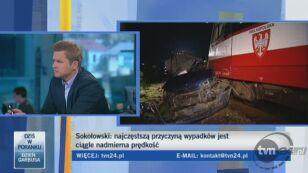 Mariusz Sokołowski z KGP broni nakazu jazdy na światłach