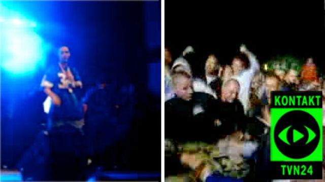 Pobicie na koncercie rapera   Jest śledztwo policji
