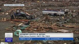 Dariusz Prosiecki o sytuacji w Japonii (TVN24)