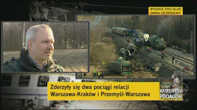 Nie ma potwierdzenie, że dwaj maszyniści żyją (TVN24)