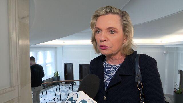 Anna Maria Anders odpiera zarzuty o loty w celach prywatnych