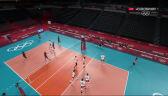 Tokio. Polska – Wenezuela 4. set (7:3)