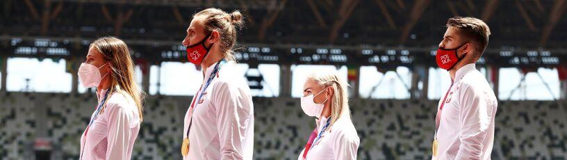 """""""To się dzieje naprawdę, jesteśmy złotymi medalistami igrzysk"""""""