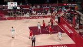 Tokio. Kapitalne akcje Słoweńców i Japończyków w drugiej kwarcie w turnieju koszykarzy