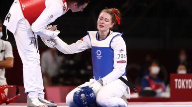 Polka podłamana po stracie brązowego medalu.