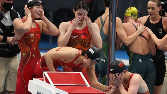 Sensacja na basenie w Tokio. Mają nie tylko złoto, ale i rekord świata