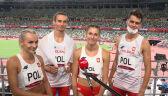 Tokio. Cała rozmowa z reprezentantami Polski po triumfie w sztafecie mieszanej 4x400 m (pełny obraz)