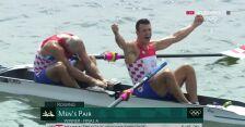 Tokio. Chorwaci zdobyli złoty medal w dwójkach bez sternika mężczyzn